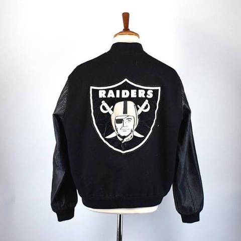 Oakland/LA Raiders/Las Vegas Letterman Jacket by ChalkLine, Size Large