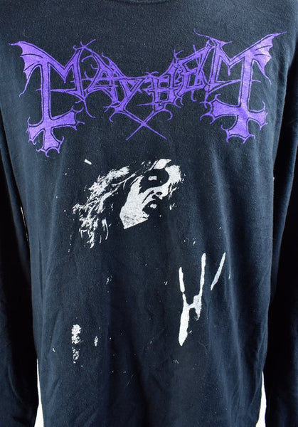 Mayhem Tribute to Dead T-Shirt, Size Large
