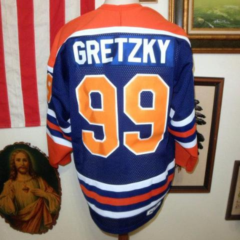 Authentic 1979 Wayne Gretzky Edmonton Oilers Jersey with Memorial '79 Shoulder Patch