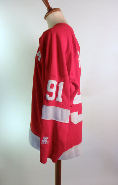 Sergei Federov Detroit Red Wings Jersey by Starter