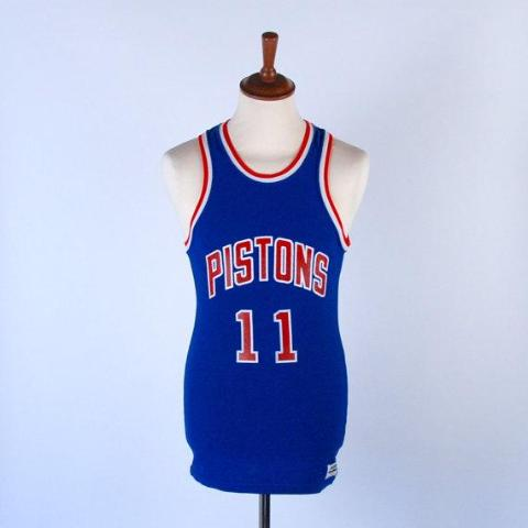 Vintage 1980's Isiah Thomas Jersey / MacGregor Sand Knit Jersey / Great Condition / Size Medium