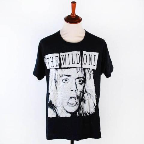 Authentic 1986 Iggy Pop WILD ONE Tee, Authentic and Amazing, Screen Stars Label