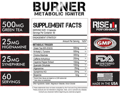 Burner Supplement Facts