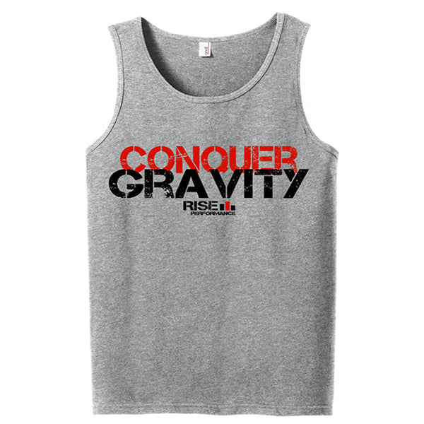 Conquer Gravity Grey Tank