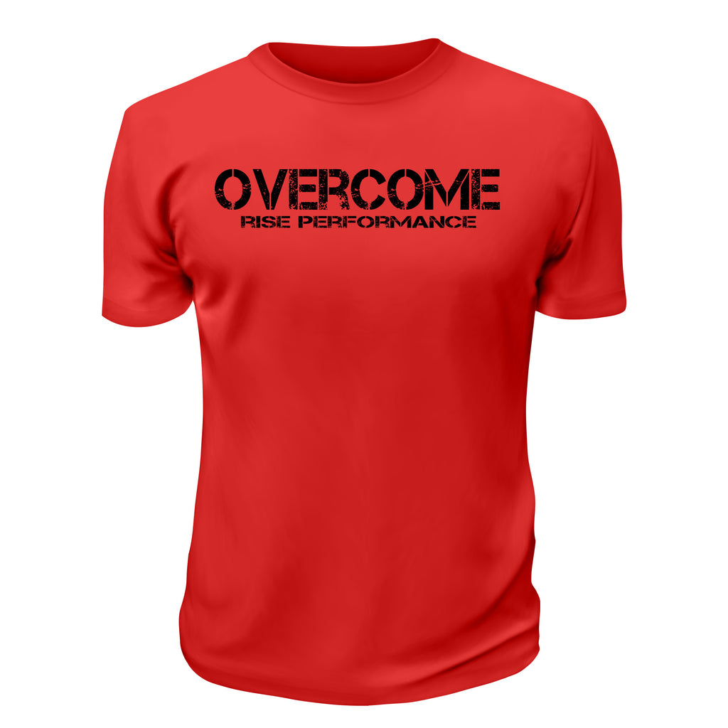 Overcome Red T-Shirt