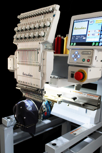 Most Versatile Embroidery Machine - Barudan BEKT-S1501CBIII
