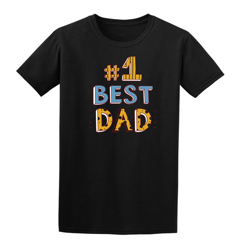 #1 Best Dad Mens T Shirts-t-shirts-Gildan-Colour-Size-Daataadirect