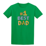 #1 Best Dad Mens T Shirts-t-shirts-Gildan-Irish Green-S-Daataadirect