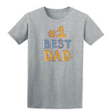 #1 Best Dad Mens T Shirts-t-shirts-Gildan-Sports Grey-S-Daataadirect