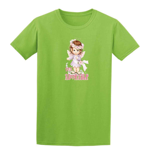 100% Adorable 20454HL6 Kids T Shirt-t-shirts-Gildan-Irish Green-YXS-Daataadirect