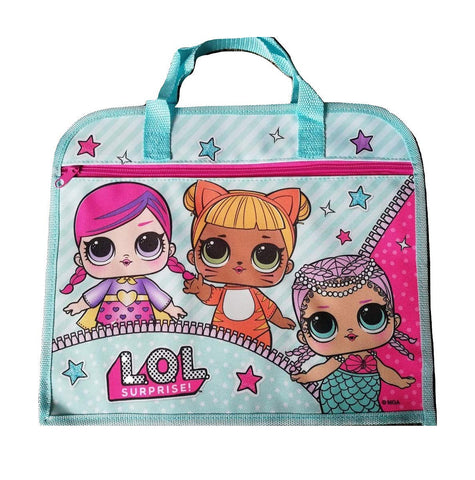 Official L.O.L. Surprise! Character School Book Bag O/S-World of Hosiery-Daataadirect.co.uk