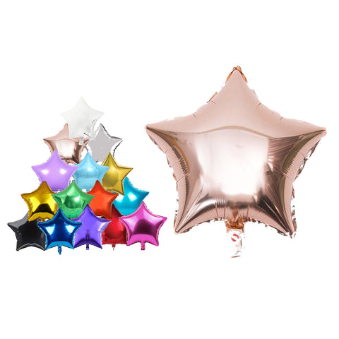 "18"" Star Shape Foil Balloons For Party Wedding Birthday Party Decor Baby Shower-Puppy Kitty Balloons-Daataadirect.co.uk"