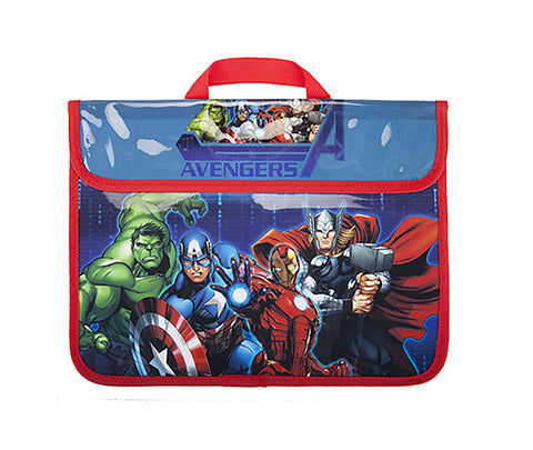 "Official Marvel Comics ""Avengers"" Character School Book Bag-World of Hosiery-Daataadirect.co.uk"