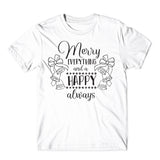 Merry Everything The Christmas T-Shirt-Gildan-Daataadirect.co.uk