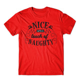 Nice with a touch The Christmas T-Shirt-Gildan-Daataadirect.co.uk