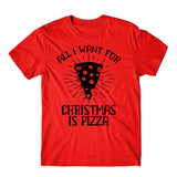 Pizza Christmas Santa Family Matching T Shirts-Gildan-Daataadirect.co.uk