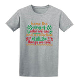 we are and a collection Christmas T-Shirt-Gildan-Daataadirect.co.uk
