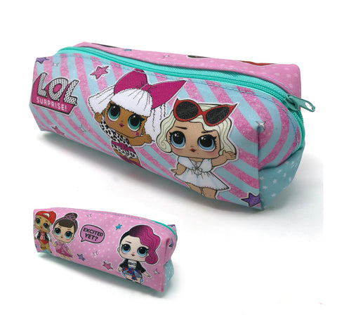 Official L.O.L. Surprise! Character PVC Rectangular Pencil Case-World of Hosiery-Daataadirect.co.uk