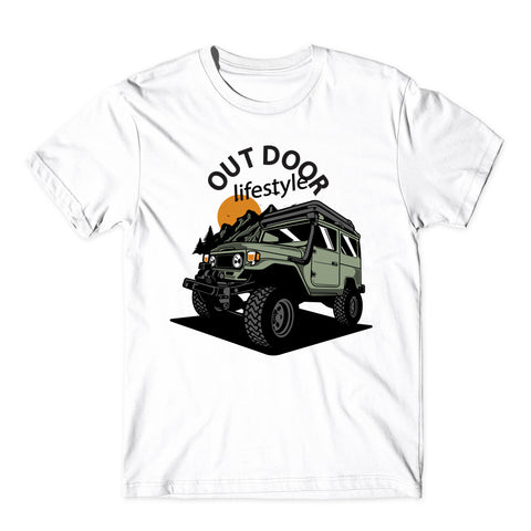 The Road Racing Cars Logo T-Shirt-Gildan-Daataadirect.co.uk