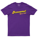 Awesome Since 1980 40th Birthday Mens T-Shirt-Gildan-Daataadirect.co.uk
