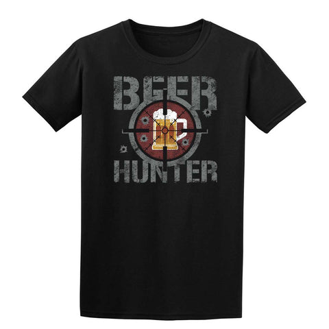 BEER HUNTER Mens T-Shirt-Gildan-Daataadirect.co.uk