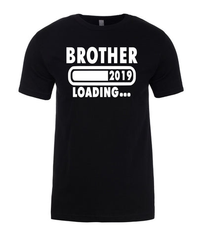 BROTHER Loading 2019 Best Brothers Gift Funny Mens T-Shirt-Gildan-Daataadirect.co.uk