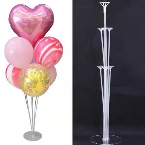New Air Balloon Holder Column Stands Clear Balloon Stick Party-Puppy Kitty Balloons-Daataadirect.co.uk