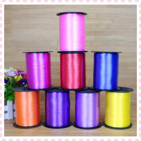 250 Yards Balloon String tie Curling Ribbons Colours-Puppy Kitty Balloons-Daataadirect.co.uk