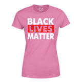 I Can't Breathe Anti Racism Freedom Right Protest Black Lives Matter Women T-Shirt-Gildan-Daataadirect.co.uk