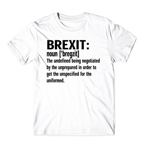 Brexit Noun [Bregzit] British Independence Day T-Shirt-Gildan-Daataadirect.co.uk