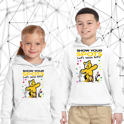 The Bugs Bunny Show Pudsey Bear - Kids Hoodies-Gildan-Daataadirect.co.uk