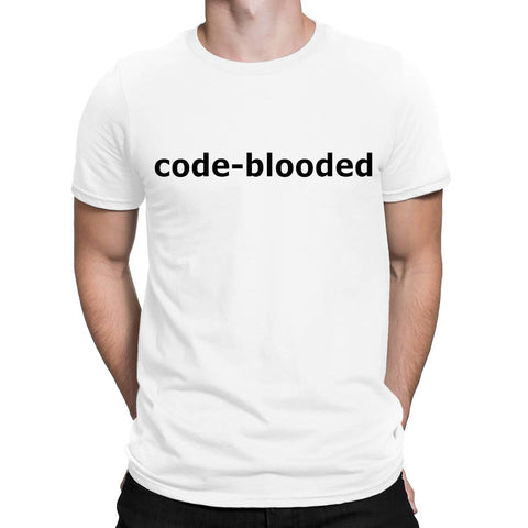 Code Blooded Mens T Shirts-Gildan-Daataadirect.co.uk