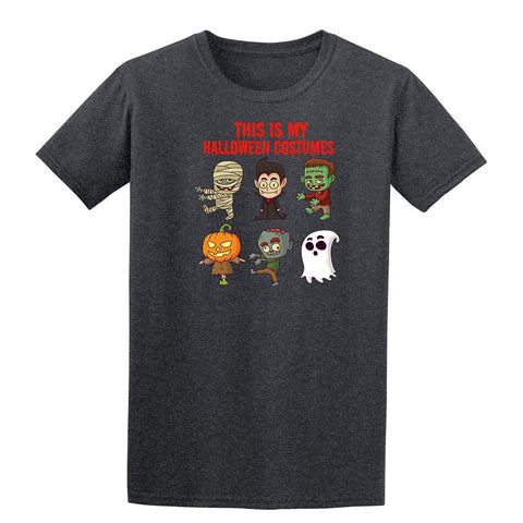 Creepy Halloween Costumes Mens T-Shirt-Gildan-Daataadirect.co.uk