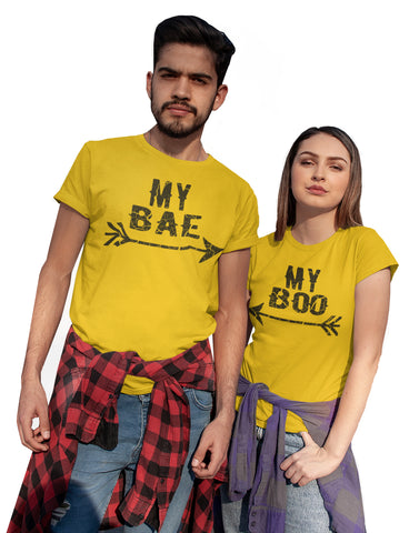 My Bae And My Boo Valentine'S Day T-Shirts-Gildan-Daataadirect.co.uk