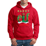 ELF Daddy Christmas Mens Hoodies-Gildan-Daataadirect.co.uk