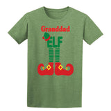 ELF Granddad Christmas Santa Claus Helper Mens T-Shirt-Gildan-Daataadirect.co.uk