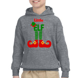 ELF Little Christmas Santa Claus Helper Kids Hoodies-Gildan-Daataadirect.co.uk