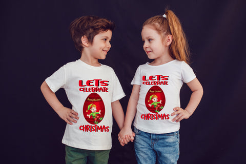 Lets Celebrate Christmas Best Gift T-Shirt-Gildan-Daataadirect.co.uk