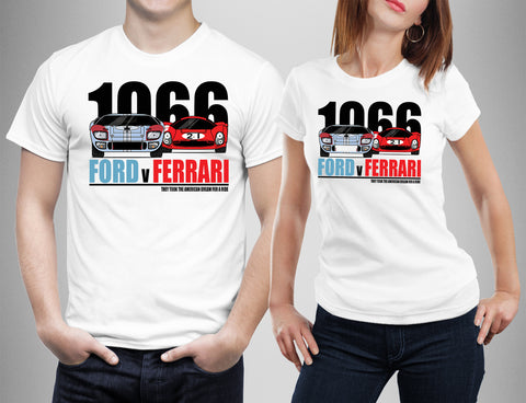 Ford Vs Ferrari T-shirt Movie 2019-Gildan-Daataadirect.co.uk