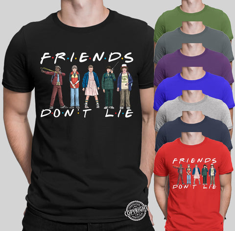 Hopper and Friends Dont Lie T-Shirts-Gildan-Daataadirect.co.uk