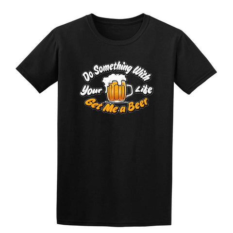 GET ME A BEER Mens T-Shirt-Gildan-Daataadirect.co.uk