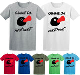 Gimme Da Noot Noot T shirt Motherfu*kers Pingu Remix Penguin T Shirts-Gildan-Daataadirect.co.uk