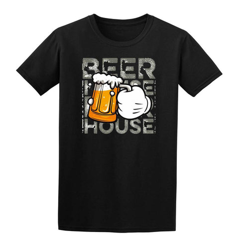 HAND BEER Mens T-Shirt-Gildan-Daataadirect.co.uk