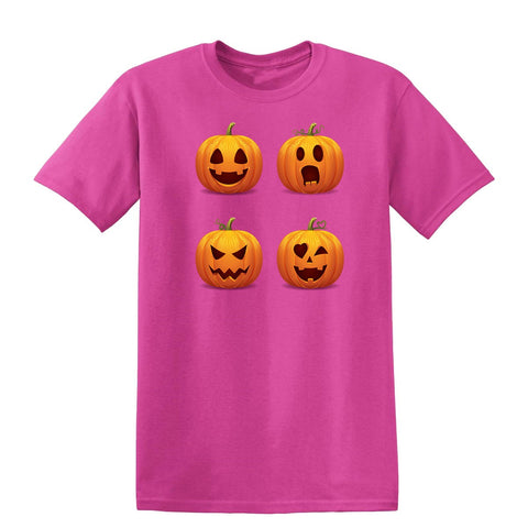 Halloween pumpkins Kids T-Shirt-Gildan-Daataadirect.co.uk