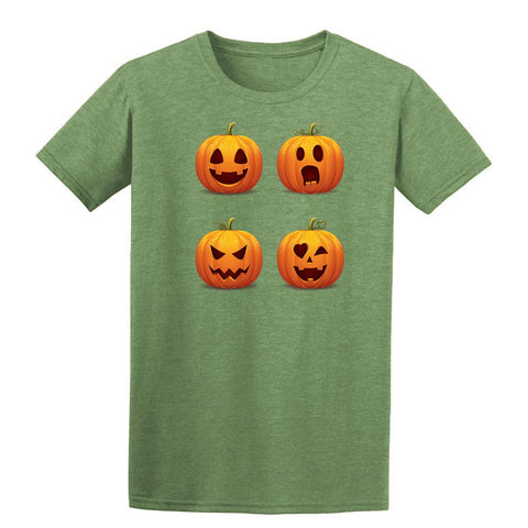 Halloween pumpkins Mens T-Shirt-Gildan-Daataadirect.co.uk