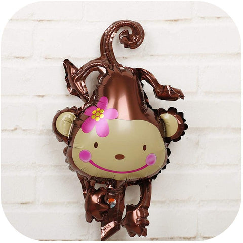 birthday party wedding decorations upside down monkey aluminum film balloon baby-Puppy Kitty Balloons-Daataadirect.co.uk
