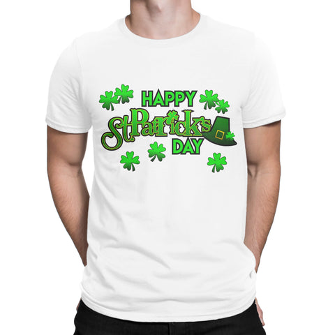 Happy Saint Patrick Day Mar 2019 Irish day Mens Womens Unisex T Shirts-Gildan-Daataadirect.co.uk