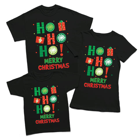 Secret Santa Ho Ho Ho Merry Xmas T-shirt-Gildan-Daataadirect.co.uk