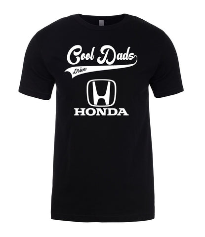 Honda Cool Dads Drive Fathers Day Best Gift Present For Dad Mens T-Shirt-Gildan-Daataadirect.co.uk