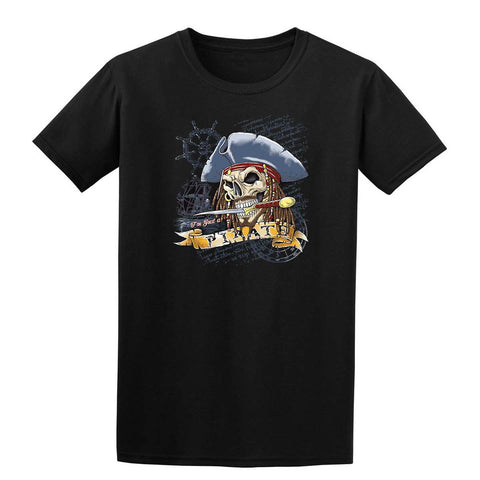 I AM JUST A PIRATE Mens T-Shirt-Gildan-Daataadirect.co.uk